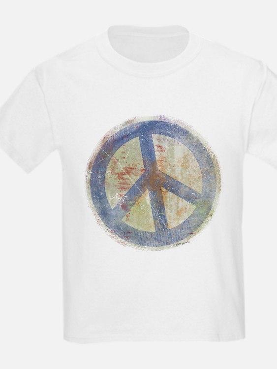 Urban Chic Peace Sign Kids T-Shirt