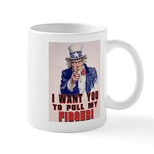 I want you to pull my finger Mug