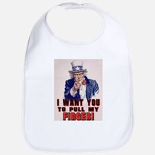 I want you to pull my finger Bib