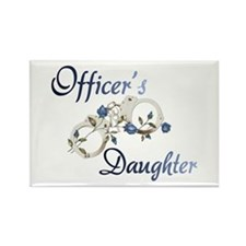 Officer's Daughter Rectangle Magnet