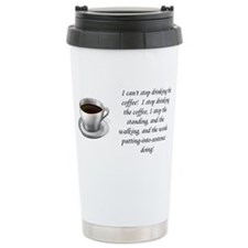 Cute Coffee girl Travel Mug