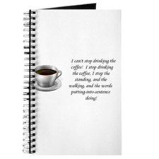 Cool Coffee girl Journal