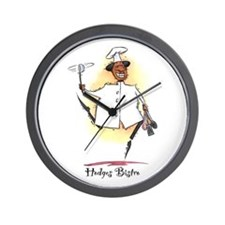 Personalize Wall Clock - Hodges Bistro
