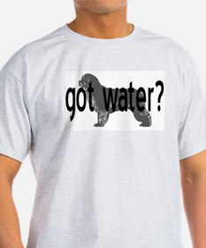Newfoundland- got water? Ash Grey T-Shirt