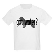 Newfoundland- got water? Kids T-Shirt