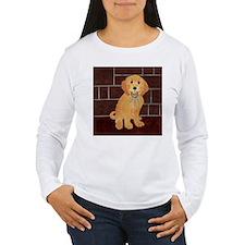 Labradoodle With Jailer Keys T-Shirt