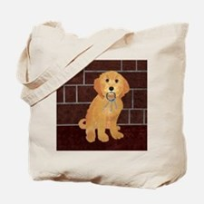 Labradoodle With Jailer Keys Tote Bag