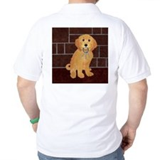 Labradoodle With Jailer Keys T-Shirt