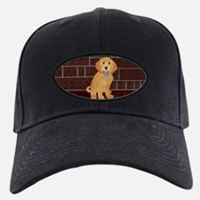 Labradoodle With Jailer Keys Baseball Hat