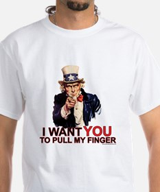 "Uncle Sam ""Pull My Finger"" - Shirt"