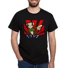 suicide death monkey T-Shirt