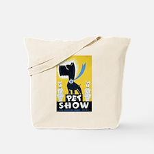 Pet Show Dogs Vintage WPA Art Tote Bag