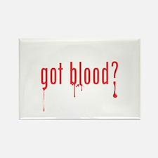 got blood? Rectangle Magnet
