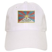 Vintage Tibet Flag Baseball Cap