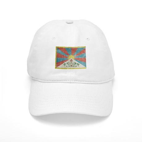 Vintage Tibet Flag Cap