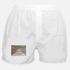 Vintage Tibet Flag Boxer Shorts