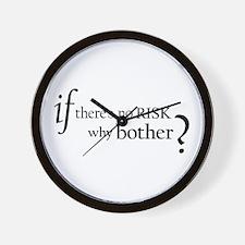 No Risk Wall Clock
