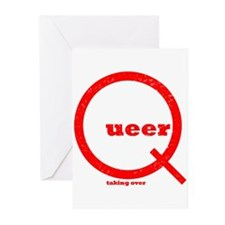 Red Queer - taking over Greeting Cards (Pk of 20)