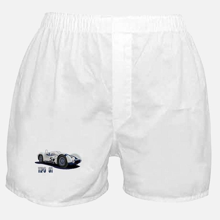 Cute Racing cars Boxer Shorts