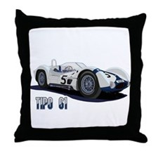 Funny Maserati Throw Pillow