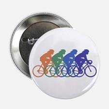 """Cycling (Female) 2.25"""" Button"""