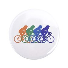 """Cycling (Female) 3.5"""" Button"""