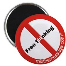 Free Thinking Magnet