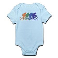 Cycling (Male) Infant Bodysuit