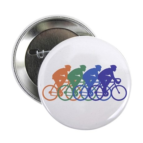 """Cycling (Male) 2.25"""" Button"""