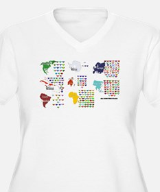 All Countries flags T-Shirt