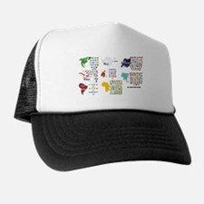 All Countries flags Trucker Hat