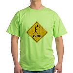Basketball X-ing Green T-Shirt