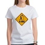 Basketball X-ing Women's T-Shirt