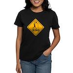 Basketball X-ing Women's Dark T-Shirt