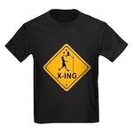 Basketball X-ing Kids Dark T-Shirt