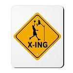Basketball X-ing Mousepad