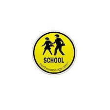 School Mini Button