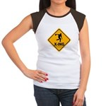 Bowl X-ing Women's Cap Sleeve T-Shirt