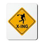 Bowl X-ing Mousepad
