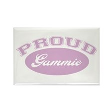 Proud Gammie Rectangle Magnet
