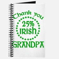 25% Irish - Grandpa Journal