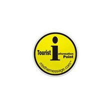 Tourist Information Mini Button