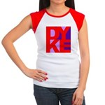 DYKE Women's Cap Sleeve T-Shirt