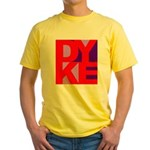 DYKE Yellow T-Shirt