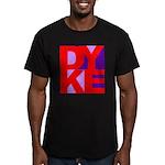 DYKE Men's Fitted T-Shirt (dark)