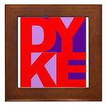 DYKE Framed Tile