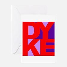 DYKE Greeting Card