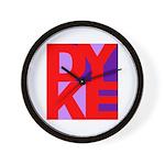DYKE Wall Clock