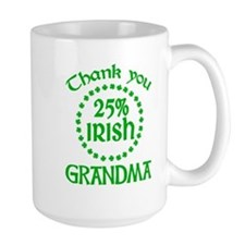 25% Irish - Grandma Mug