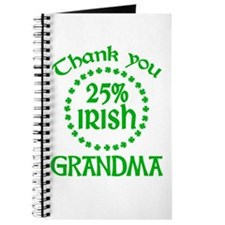 25% Irish - Grandma Journal